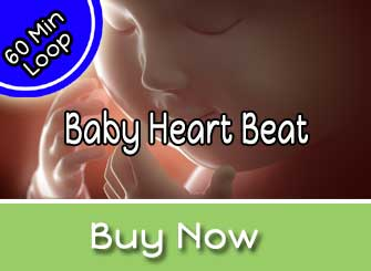 Baby Heartbeat Womb Sounds