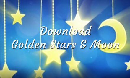 Download Golden Stars & Moon Baby Lullaby