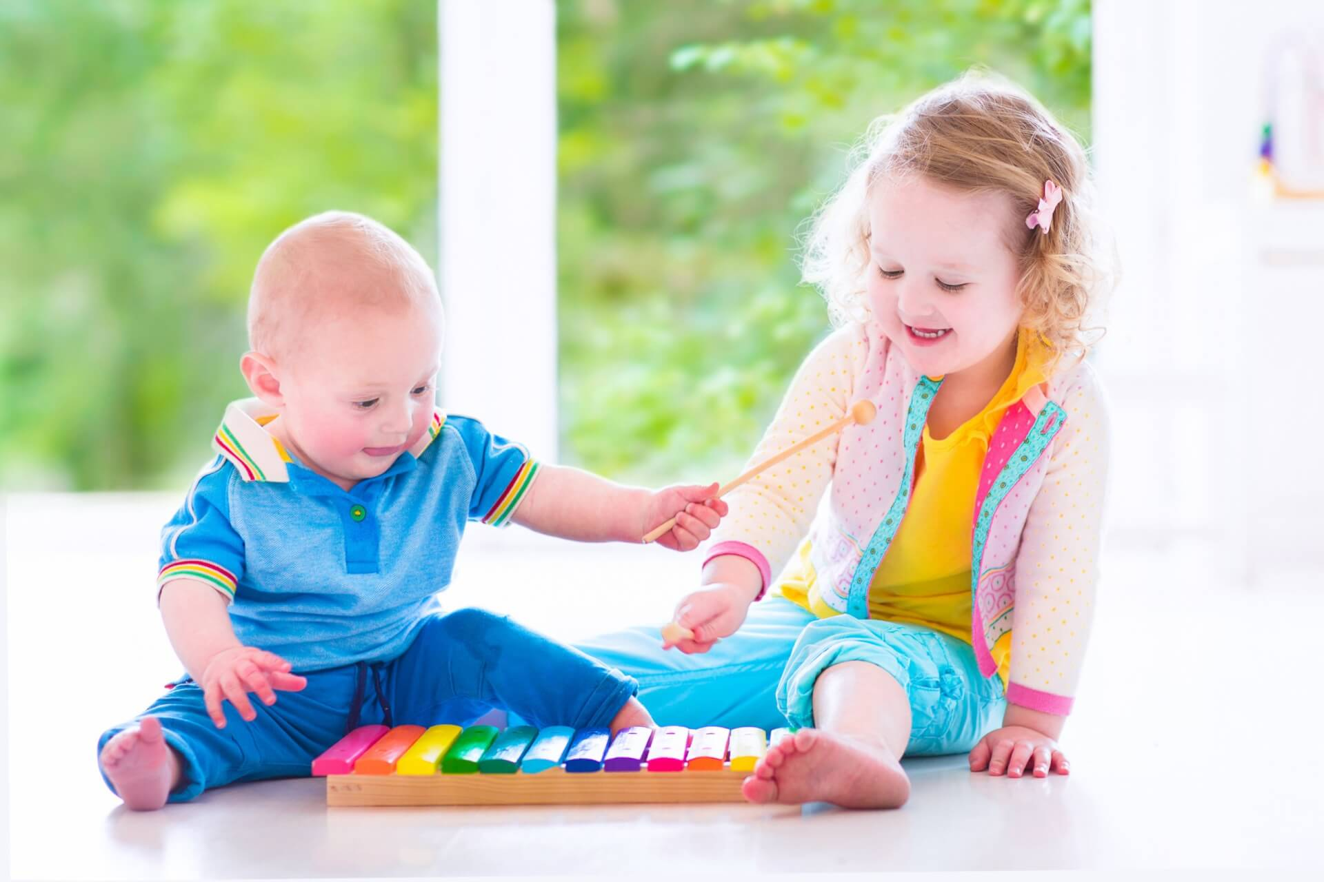 how music helps your baby to develop