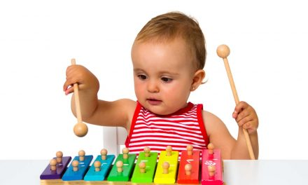 Why You Should Let Your Baby Make Music With Simple Instruments
