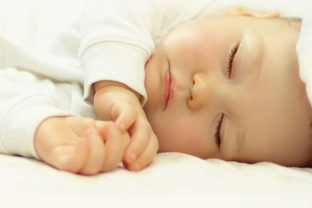 sweet sleeping baby
