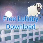 Free Lullaby Download Baa Baa Black Sheep