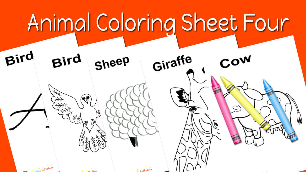 Free Coloring Printable For Babies