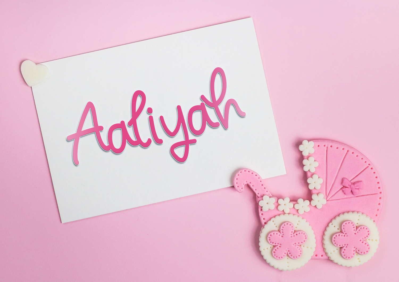 Aaliyah Baby Name