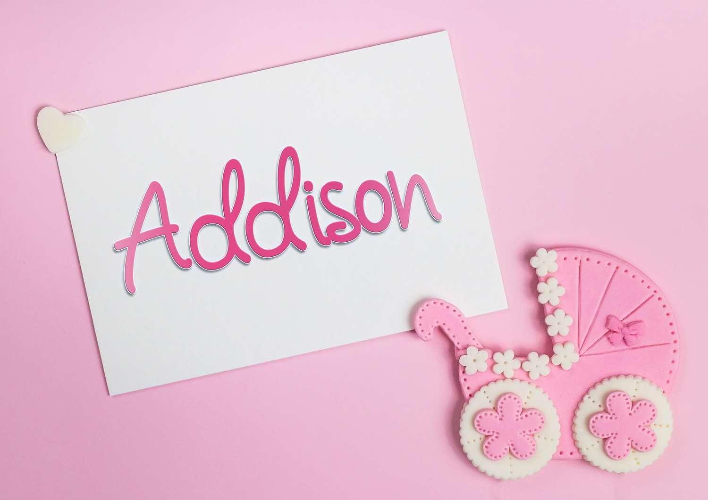 Addison Baby Name