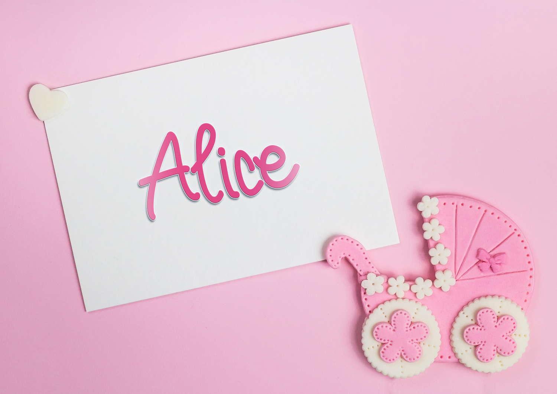 Alice Baby Name