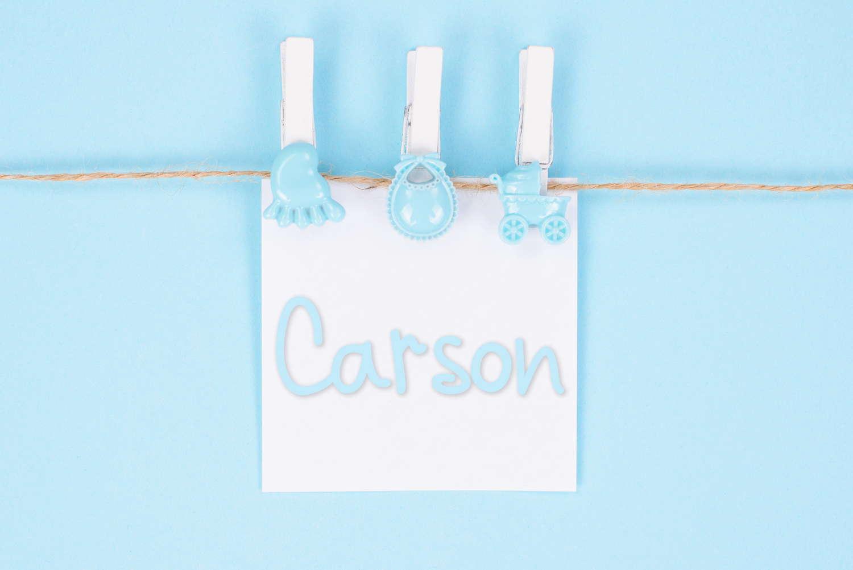 Carson Baby Name