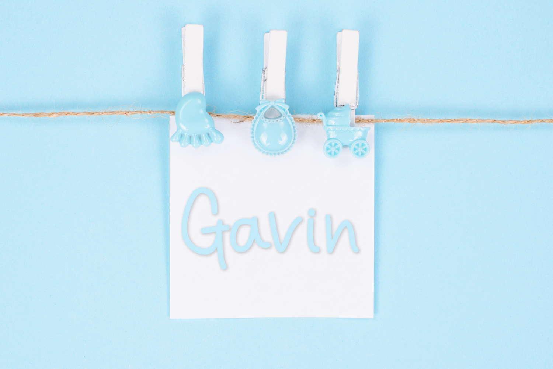 Gavin Baby Name