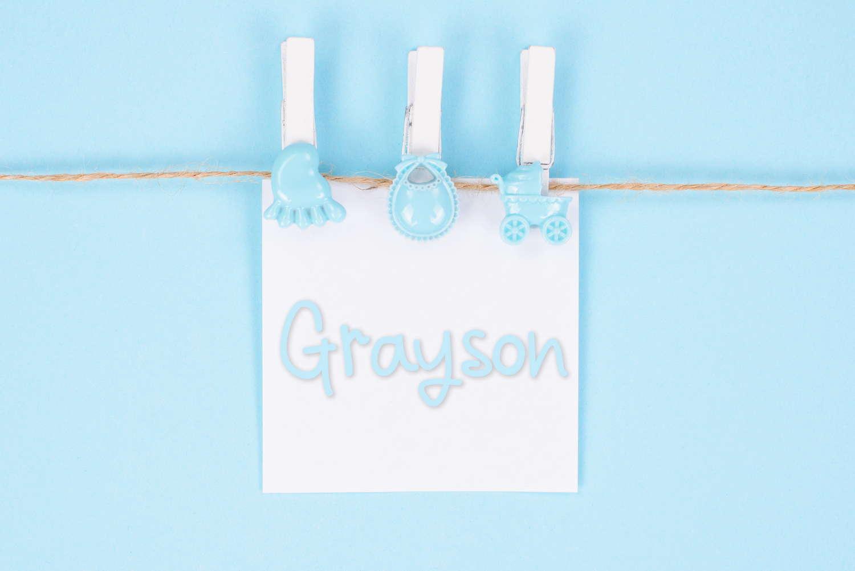 Grayson Baby Name