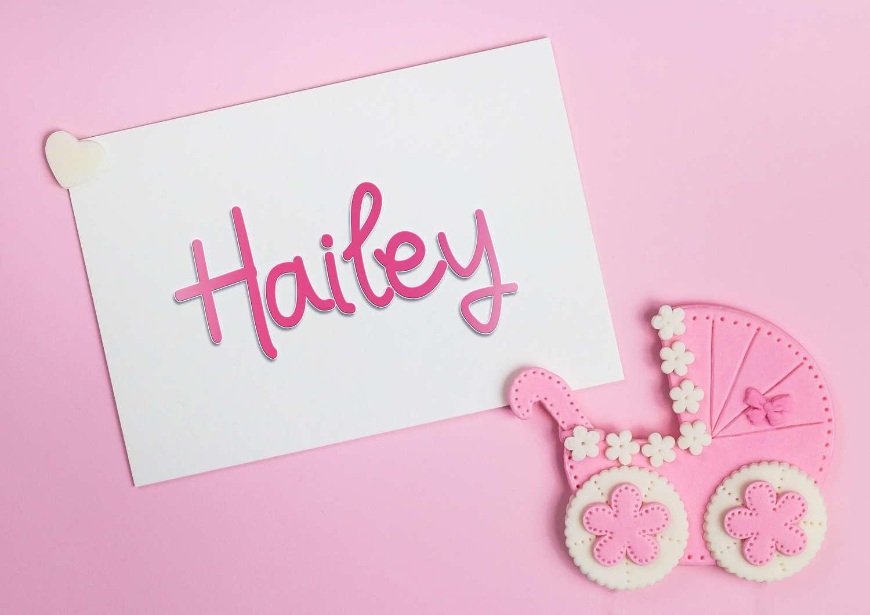 Hailey Baby Name