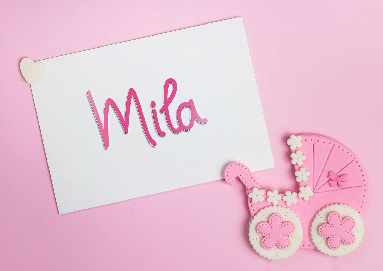 Mila Baby Name