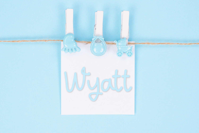 Wyatt Baby Name